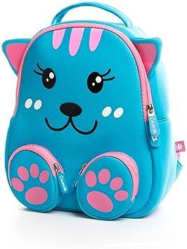 Kids Backpack Childrens School Backpack Star Design Toddler Kids Rucksack for Boys Girls Children 2-6 Years Old Green