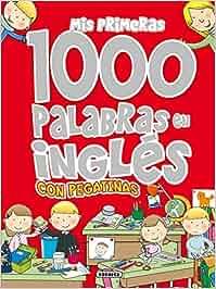 Mis primeras 1000 palabras en inglés con pegatinas Mis