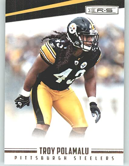 c4880854f 2012 Panini Rookies and Stars Football Card  116 Troy Polamalu - Pittsburgh  Steelers (NFL