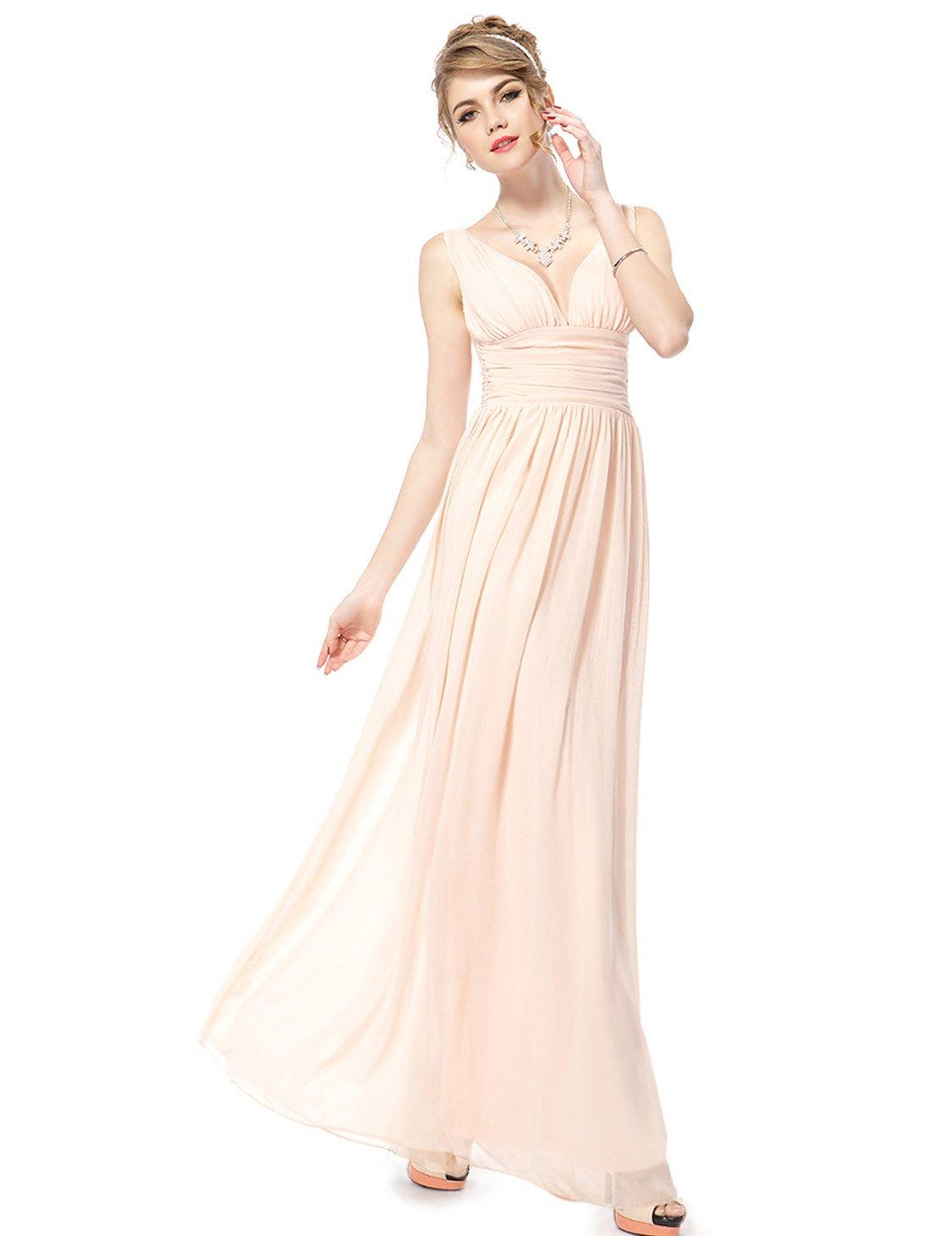 ee6522e700 Ever-Pretty Sleeveless V-Neck Semi-Formal Maxi Evening Dress 09016 ...