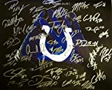 2015 Indianapolis Colts AUTOGRAPHED Team SIGNED Photo Poster Large 16x20 w/COA Andrew Luck T.Y. Hilton