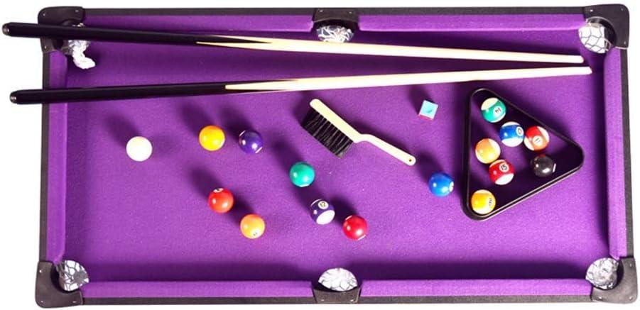For niños Juegos de mesa, mesa de billar Mesa set y Accesorios mesas de billar pelotas Pollas y la cremallera - Diversión Juegos familiares portátiles for fiestas familiares camping Viajes por carrete: