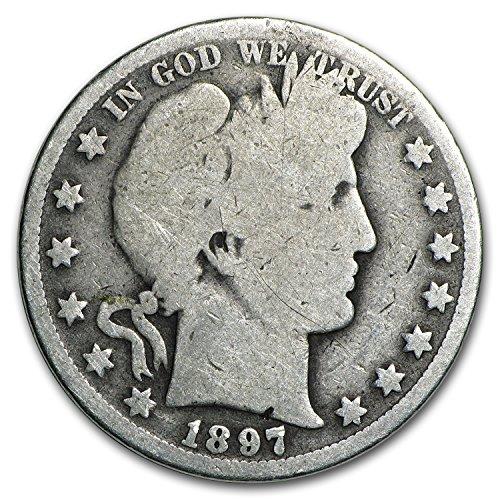 1897 O Barber Half Dollar AG Half Dollar About Good