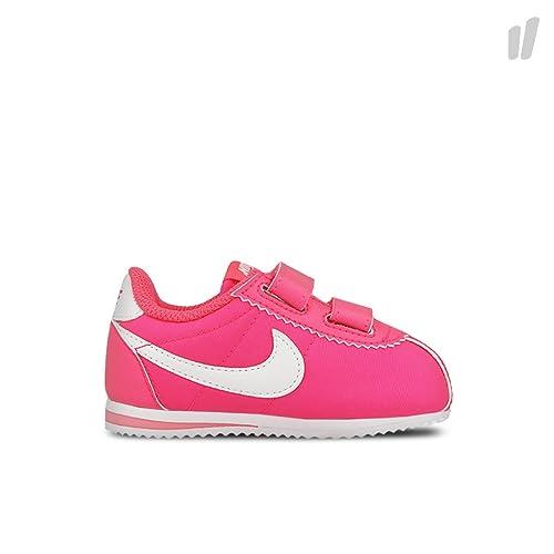Nike Cortez Nylon (TDV), Zapatos de recién Nacido para Bebés, Rosa/