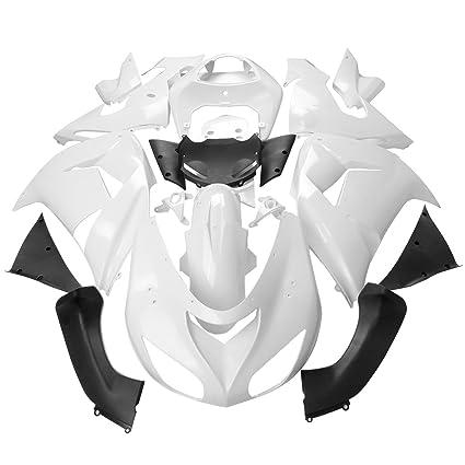 iglobalbuy blanco sin pintar carenado Kit de carrocería para ...