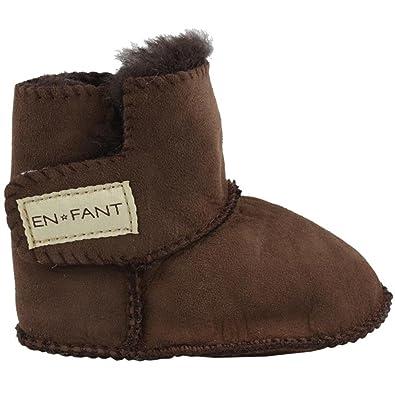 EnFant 811840U-15 Sheepskin Bootie, Winter Lauflernschuhe für Mädchen, Gr. L