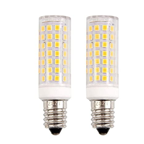 E14 bombilla LED 9W, ZSZT rosca Edison pequeña (SES), equivalente a bombilla