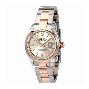 483eb263c55 Rolex Lady Datejust Sundust Cadran en acier et or 18 K Everose montre pour  femme 279161snso