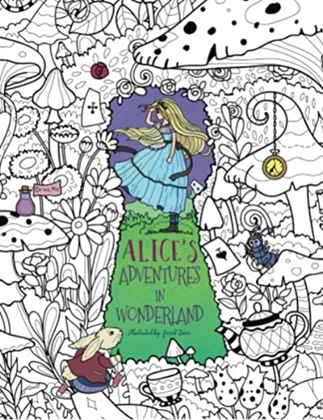 - Alice's Adventures In Wonderland: A Whimsical Coloring Book For Adults And  Kids (Relaxation, Mediation, Inspiration): Rivers, Julia, Storytroll:  9781718915107: Amazon.com: Books
