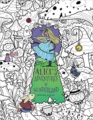Alice\'s Adventures in Wonderland: A Whimsical Coloring Book ...