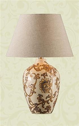 lampada da tavolo ceramiche classiche lampada da tavolo Soggiorno ...