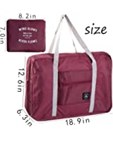 Travel Bag with High Capacity Foldable Storage Duffle Bag for Men Women