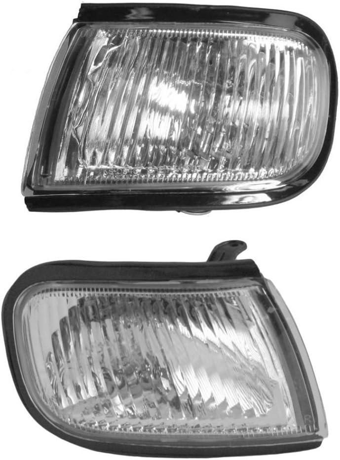 Corner Parking Marker Signal Light Pair Set Left /& Right for 97-99 Legacy