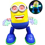 DOMENICO Fantasy Minion Singing and Dancing Battery Operated Musical Flash Light Toy (Multicolour)
