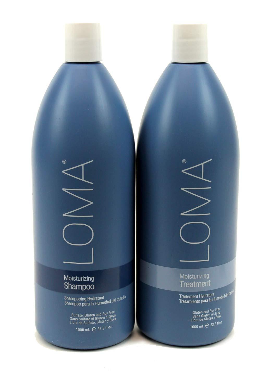 Amazon.com: Loma Hair Care Moisturizing Shampoo and ...