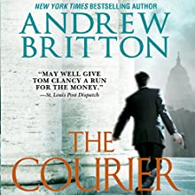 The Courier: A Ryan Kealey Thriller Audiobook by Andrew Britton Narrated by Christopher Lane