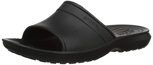 8b1ad980dc8d crocs Classic Men Slide in Black  Buy Online at Low Prices in India -  Amazon.in