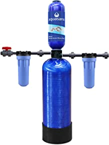 Aquasana Chloramines 4-Year, 400,000 Gallon Whole House Water Filter with Professional Installation Kit