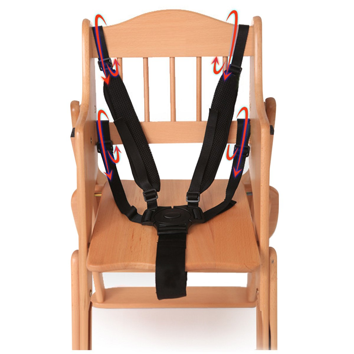 Protezione del bambino seggiolino passeggino cintura 5punti di sicurezza cintura di sicurezza sedile per passeggino seggiolone passeggino passeggino passeggino per bambini Kid Anyos