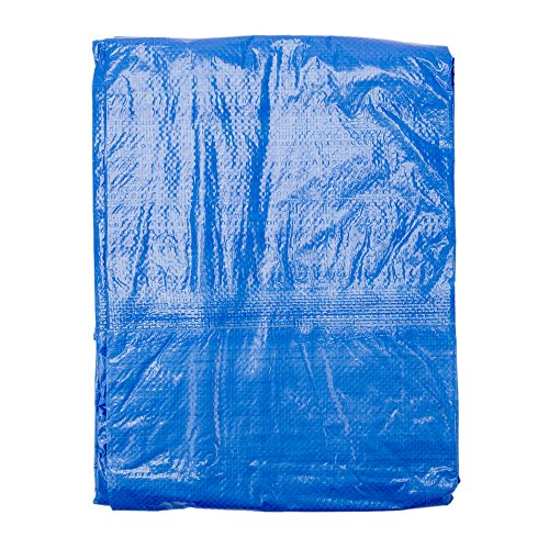 Grizzly-Tarps-10-x-14-Feet-Blue-Multi-Purpose-Waterproof-Poly-Tarp-Cover-5-Mil-Thick-8-x-8-Weave