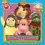 img - for Little Piggy Rescue! (Wonder Pets!) (Book and CD) book / textbook / text book