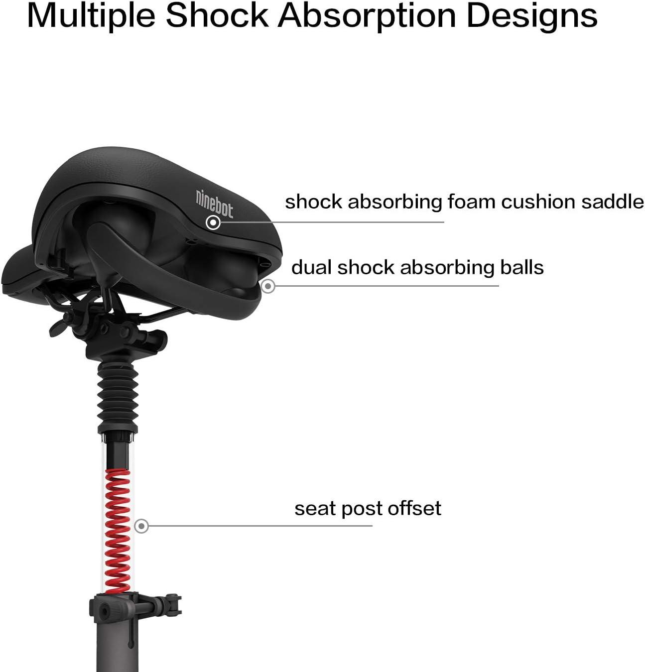 Amazon.com: Segway Ninebot - Sillín ajustable para patinete ...