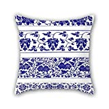 Best Utopia Bedding Mattress For Kids - Throw Pillow Covers Of Chinese Style Blue And Review
