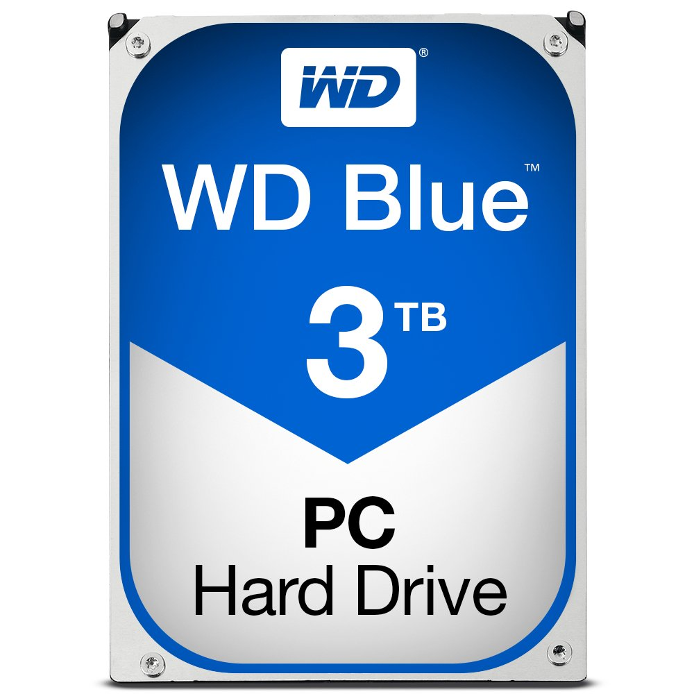 'Wd Blue – 3 TB 3.5 'internal hard drive – SATA 3, 64 MB)