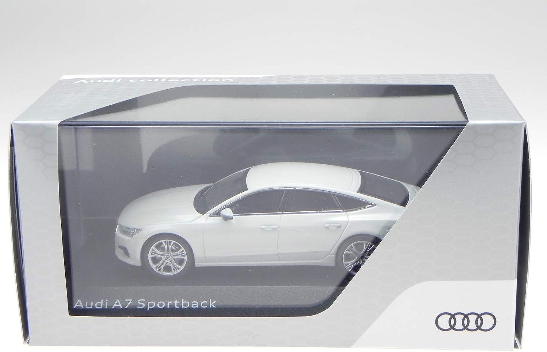 iScale Audi A7 Sportback 2018 Gletscher Weiss Modellauto 11707031 1:43