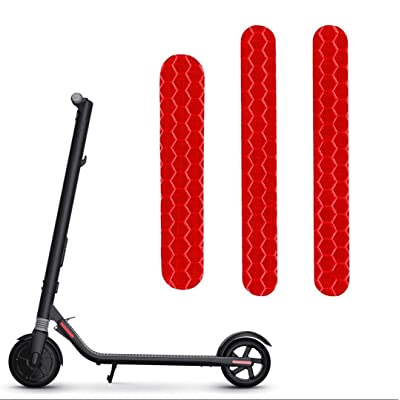 Glodorm Self-Adhesive Night Reflective Stickers for Ninebot Segway ES2 ES4 Electric Scooter Waterproof Warning Strip for Ninebot ES2 ES4 Scooter Decoration Accessories : Sports & Outdoors