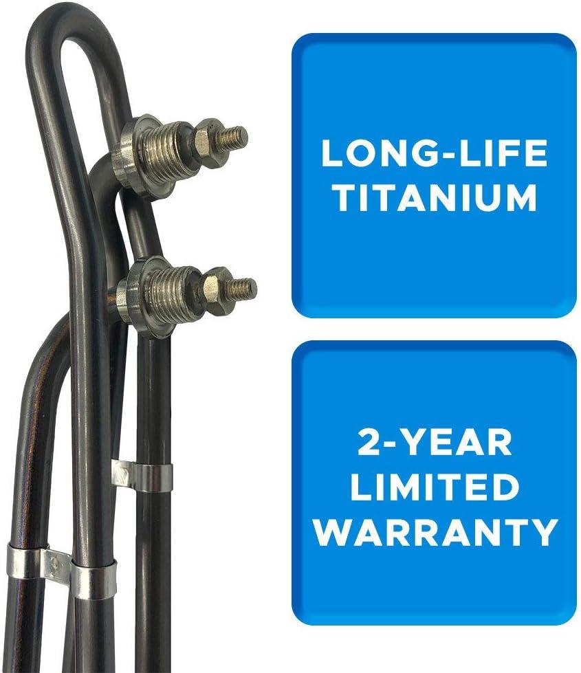 Smart Spa Supply 4.5kw 240v Titanium Flo-Thru Univeral Heater ...