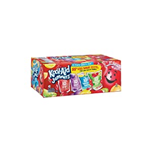 Kool-Aid Jammers Variety Pack 40 pouches. (pack of 3) A1
