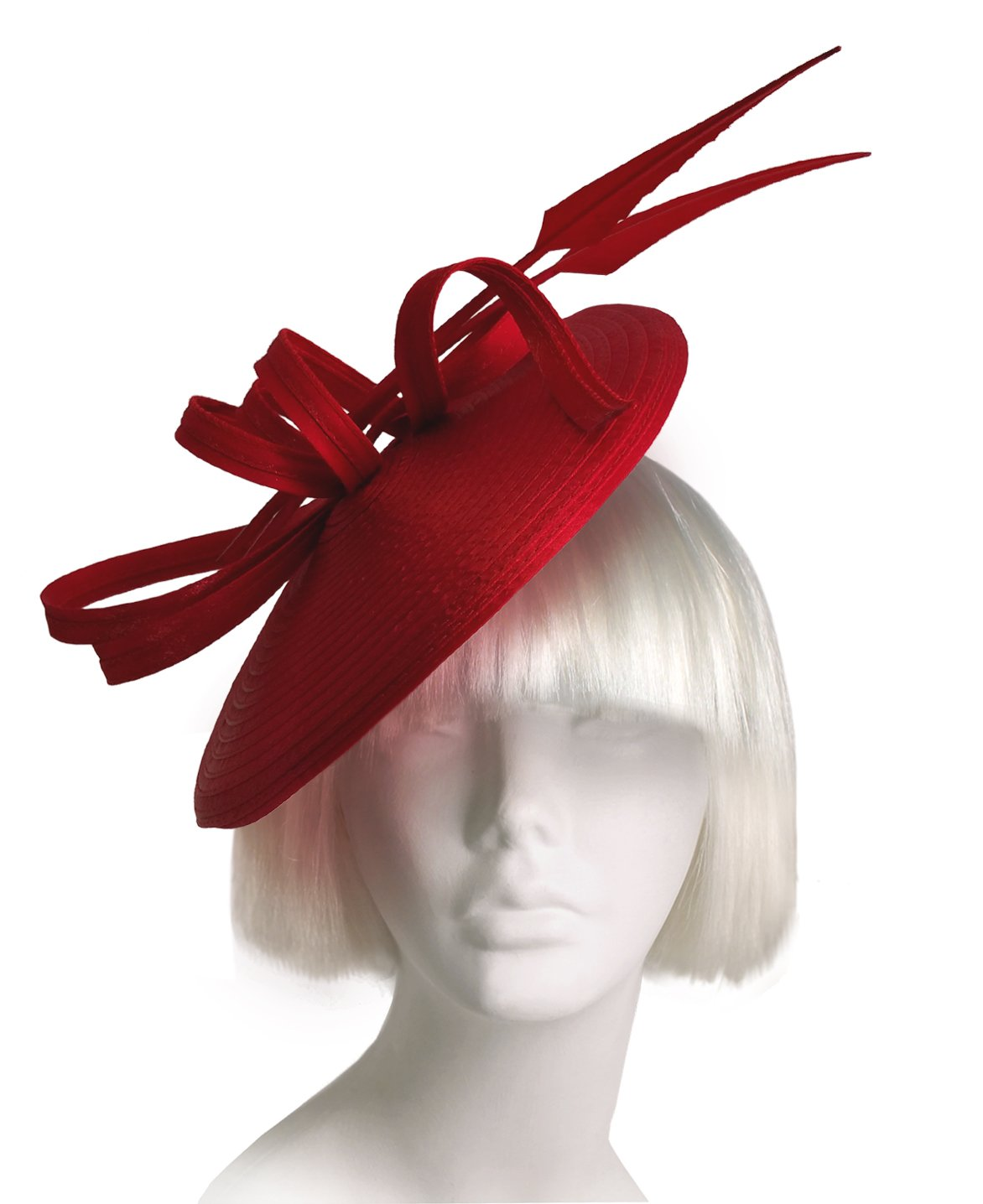 The Red Hat Society by Luke Song Kentucky Derby Fascinator ARDH223 Red by Red Hat Society by Luke song