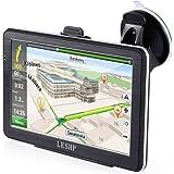 LESHP 3D Navigatore Satellitare 7 pollici GPS Auto Smart Voice Ricordando Android 8GB per 48 paesi
