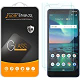 (2 Pack) Supershieldz for Nokia (3.1 Plus) (US Cricket Wireless Version) Tempered Glass Screen Protector, Anti Scratch…