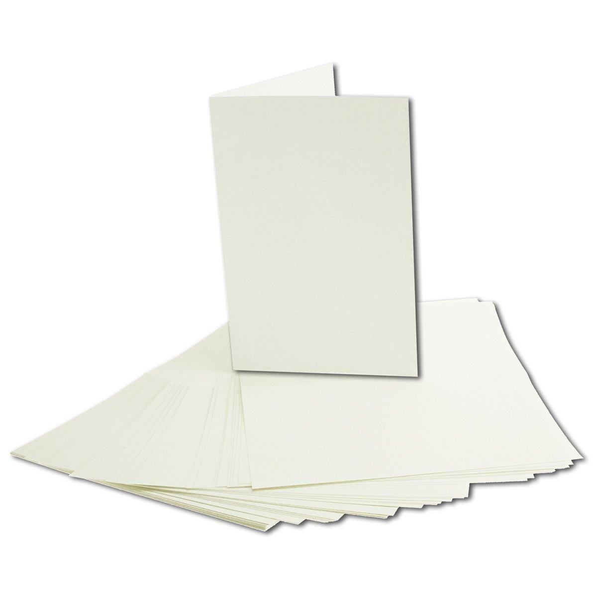 200x faltbares Einlege-Papier für B6 Doppelkarten     transparent-weiß   163 x 224 mm (112 x 163 mm gefaltet)   ideal zum Bedrucken mit Tinte und Laser   hochwertig mattes Papier von GUSTAV NEUSER® B07CK526T9 | Shopping Online  0a2214