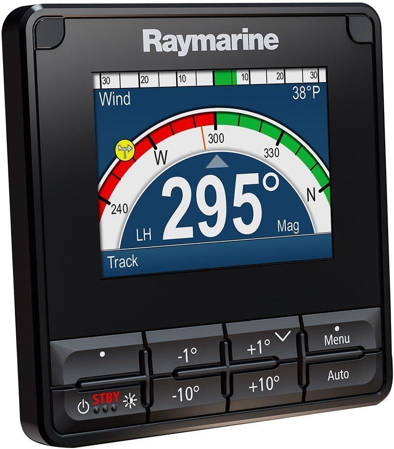 Raymarine P70S Control Piloto Automático con Pantalla de 3.5 Pulgadas Resistencia al Agua IPX6 E70328 Unidad, Negro: Amazon.es: Deportes y aire libre