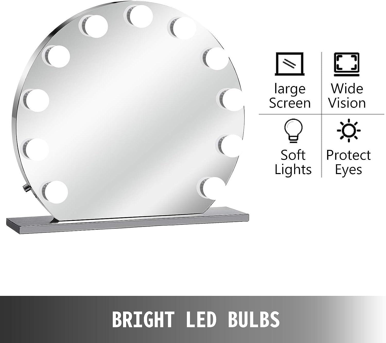 Schminkspiegel Einhorn mit LED-Beleuchtung Kosmetikspiegel Spiegel Make-Up