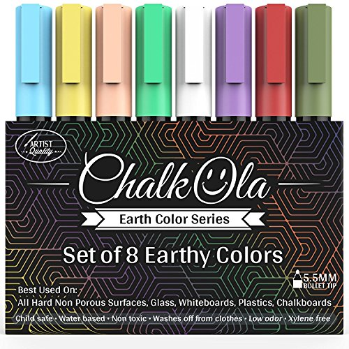 Chalkboard Chalk Markers - Pack of 8 Classic