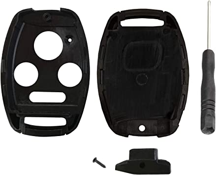 Swap Your Original Blade Key Fob Case Shell for Honda Accord Civic Pilot /& More