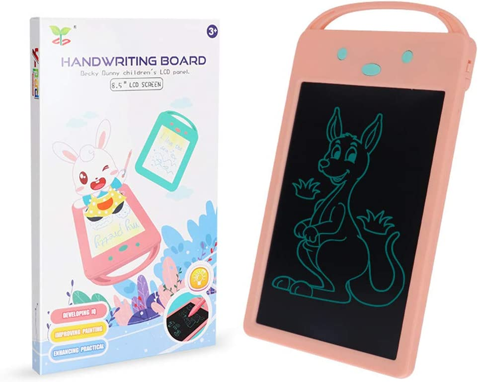 Green, Pink,Size : 22cm15cm Pink CCM Drawing Tablet Childrens Doodle Board Color Writing Board Draft Drawing Board LCD Drawing Board Gifts for Girls Boys