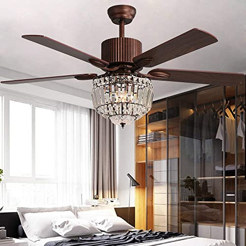 Andersonlight Crystal Ceiling Fan