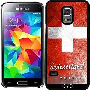 Funda para Samsung Galaxy S5 Mini - Bandera Suiza by Julien Kaltnecker