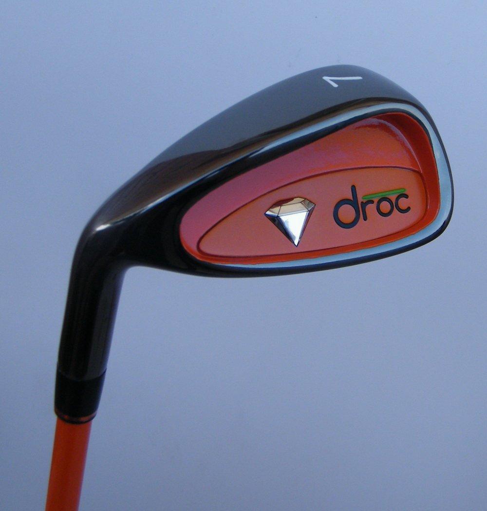 droc - Mica Left Handed Series 7 Pieces Golf Club Set & Golf Bag Ages 3-6 Left Handed (Titanium, Regular) by droc (Image #6)