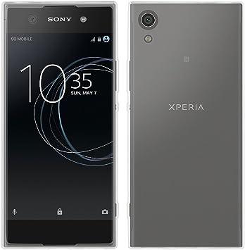 REY Funda Carcasa Gel Transparente para Sony Xperia XA1 Ultra, Ultra Fina 0,33mm, Silicona TPU de Alta Resistencia y Flexibilidad: Amazon.es: Electrónica