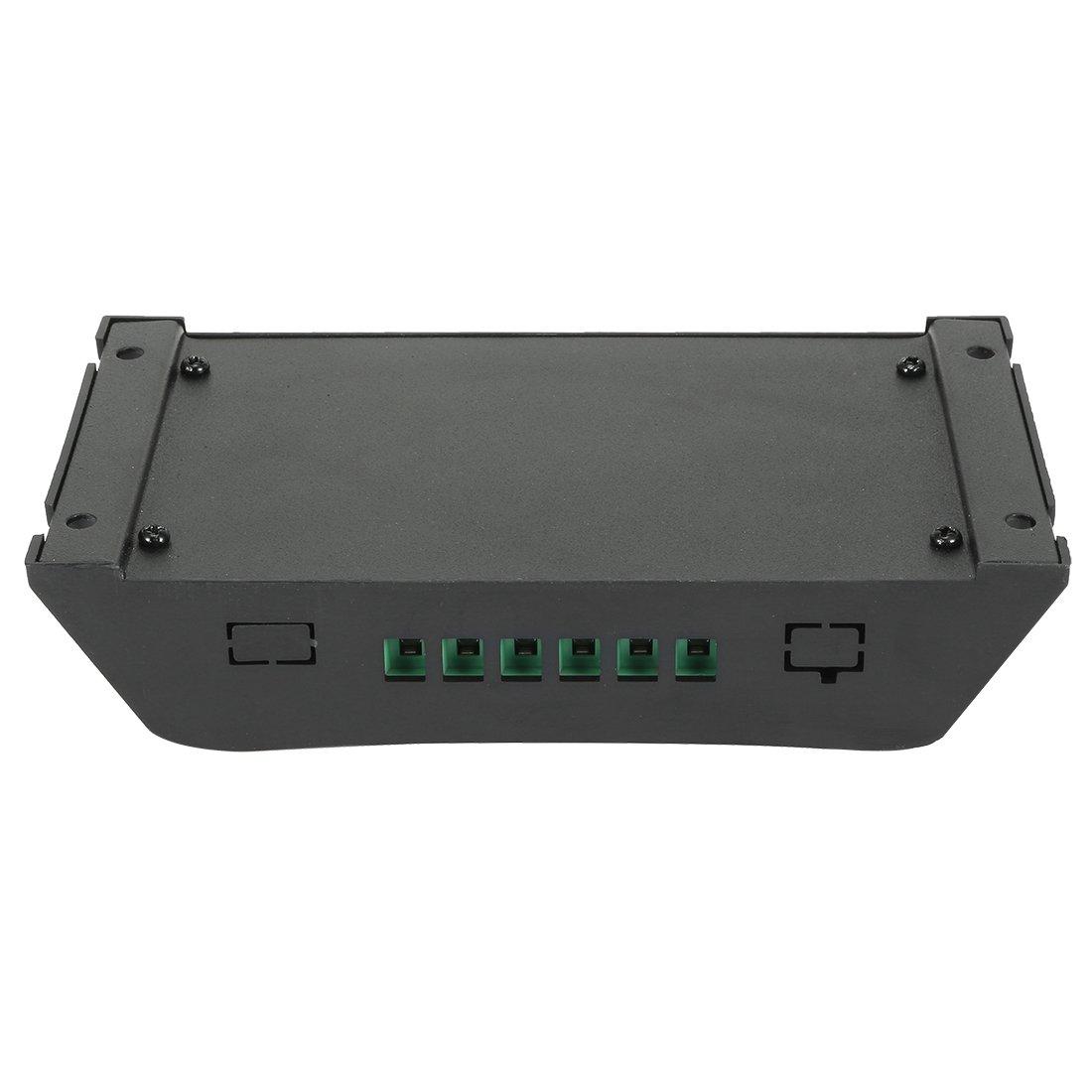 uxcell Intelligent 10A Solar Panel Charge Controller 12V-24V Battery Regulator PV2410 a17031000ux0294