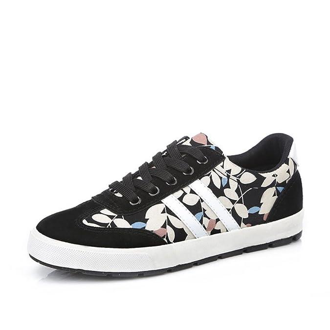 Zapatos de mujer de Kaho/Instituto Coreano de viento fresco/Transpirables y completamente casuales zapatos cómodos-A Longitud del pie=23.8CM(9.4Inch)  39.5 EU k4KH0jkjWx