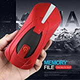 Ocamo Foldable Selfie Drone Four Axis Aircraft 720P HD Camera 2.4G Wifi RC Quadcopter Helicopter Toys red 2 million