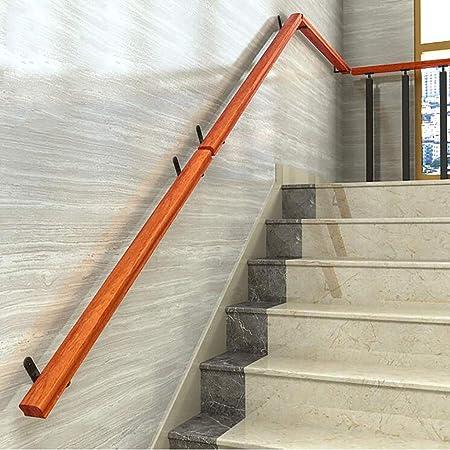 Pretil Escaleras De Barandillas (30cm-600cm), Kit Completo De Barandillas De Pino, Barra De Agarre De Escalera Sin Barreras Para Ancianos, Pasillos De Jardín Montados En La Pared Barandillas De Terraz: Amazon.es: Hogar