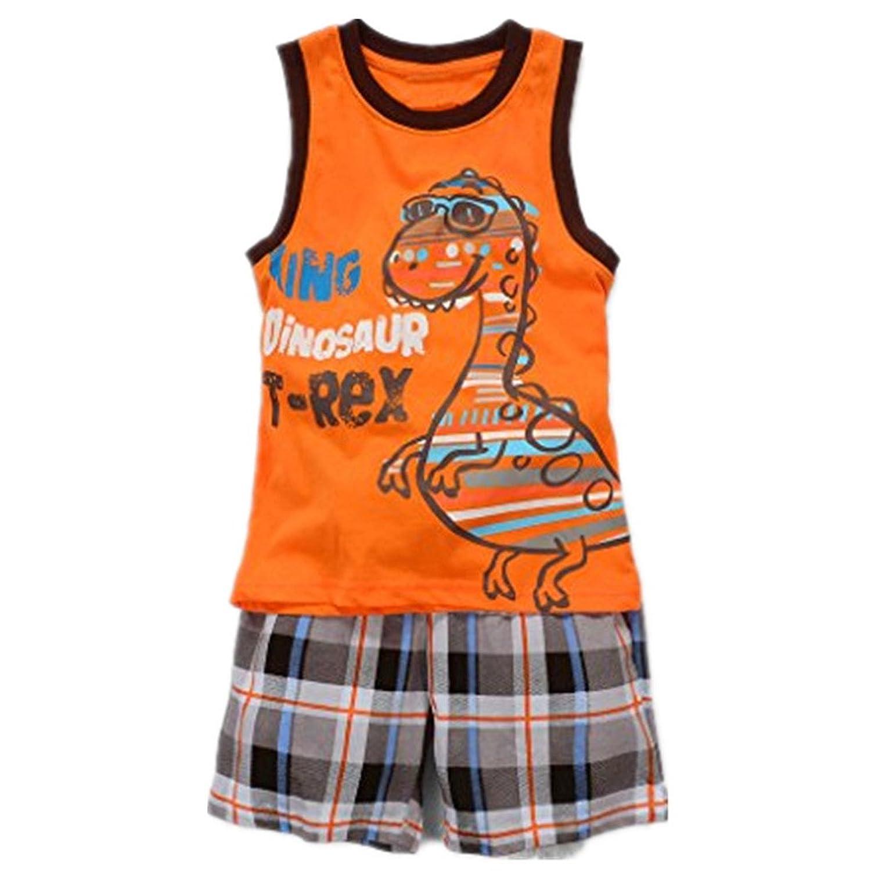 Baby Box Little Boys Short Sleeve Infant Clothing Set T Shirt